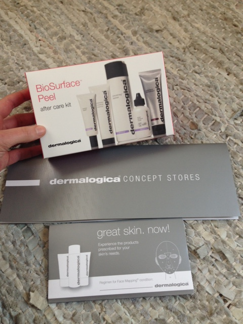 Dermalogica after care products kit.