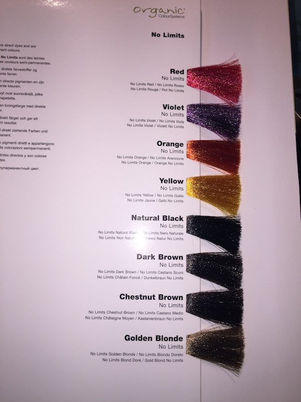 And crazy fun colours to choose from if you like having those colour streaks in your hair