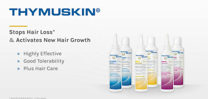 Improve Thinning Hair in 8 Weeks with Thymuskin®