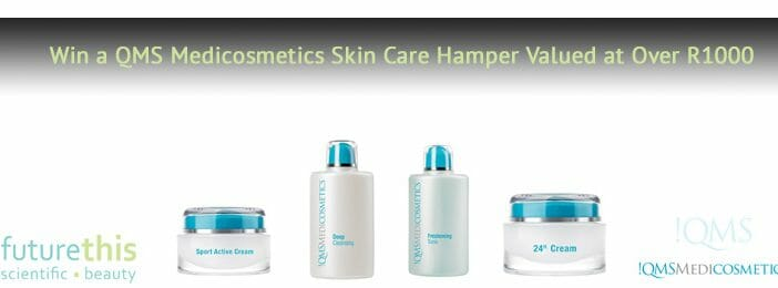 Win a QMS Medicosmetics Skin Care Hamper valued at over R1000