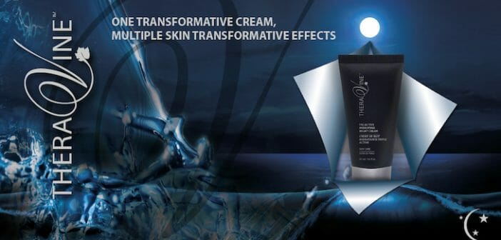 TheraVine™'s Super Hydrating Day Cream Meets her Tri-Active Hydrating (k)Night Cream in Shining Armour…