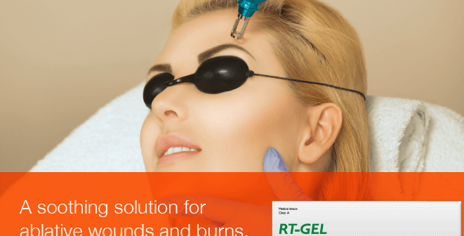 RT Gel – A Soothing Solution for Ablative Wounds and Burns