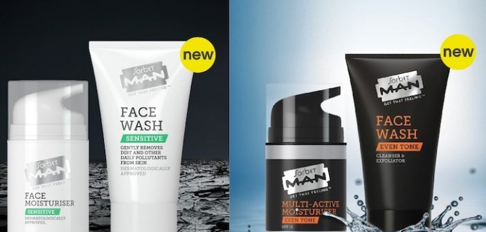 Sorbet Man Gets 'Sensitive' and 'Even' with NEW Skin Care Products