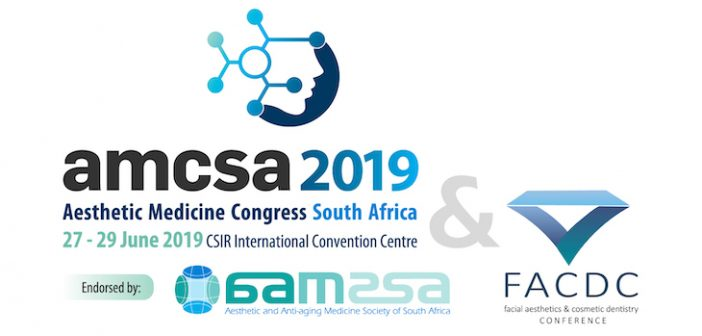 Trade Article: The 14th Aesthetic Medicine Congress Of South Africa (AMCSA 2019)