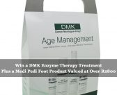 Win a DMK Enzyme Therapy Treatment Plus a Medi Pedi Foot Product Valued at Over R2800