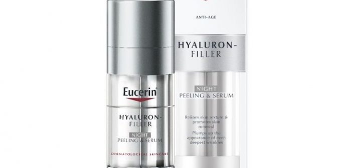 Eucerin® Launches a Skin-Care Innovation with Dual-Efficacy for Both Peeling and Wrinkle Filling: Eucerin® Hyaluron-Filler Night Peeling & Serum