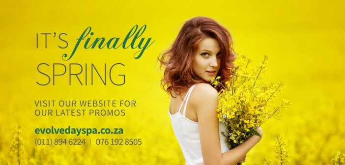 Evolve Wellness Spa in Boksburg and Now Also Open At Premier Hotel, OR Tambo